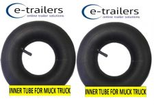 "2x INNER TUBE FOR 10"" TYRES ON Muck-Truck ® POWER-BARROWS MOTORISED WHEEL BARROW"